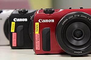 Canon EOS M: eccola dal vivo