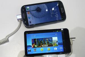 Samsung Galaxy Camera a confronto con Galaxy S III