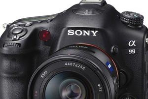 Sony Alpha A99: Full Frame SLT con autofocus da 19+102 punti