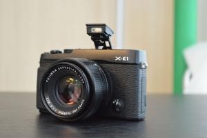 Fujifilm X-E1: prime immagini live