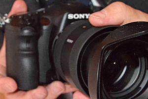 Sony Alpha A99: eccola dal vivo