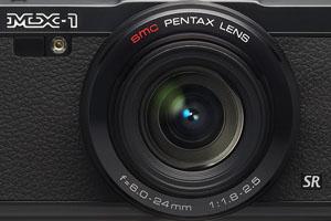 Pentax MX-1: compatta premium con ottica F1.8