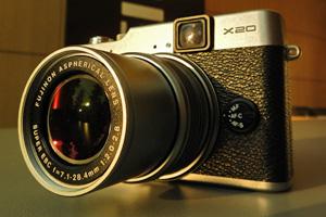 Fujifilm X20: eccola dal vivo