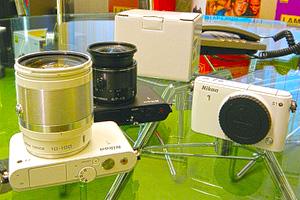 Nikon 1 J3, S1 e 1 Nikkor 6,7-13mm: eccoli dal vivo