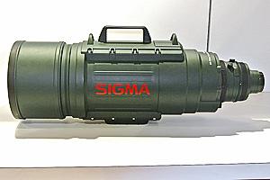 Sigma 200-500mm F2.8 EX Apochromatic DG: 16 Kg