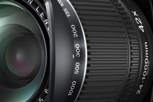 Fujifilm HS50EXR: ottica 42x 24-1000mm equivalenti