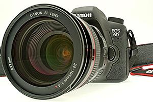 Canon EOS 6D: compatta e full frame