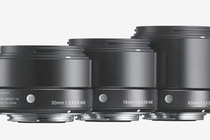 Sigma: 30mm F1.4 per reflex e 19mm, 30mm, 60mm F2.8 per mirrorless