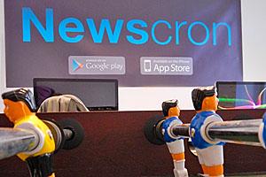 Negli uffici di una startup: Newscron