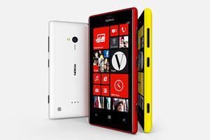 Nokia 301, Lumia 520 e Lumia 720