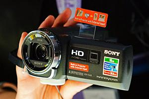 Videocamere con proiettore per Sony al Photoshow