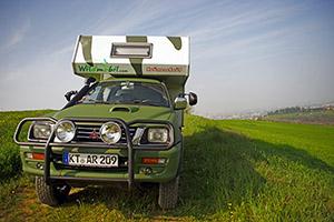 Mollare tutto, salire su un camper e fotografare il mondo: ecco Wildmobil