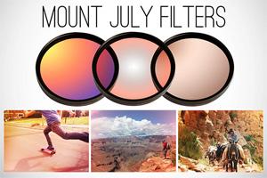Mount July: i filtri ottici che portano Instagram sulle reflex