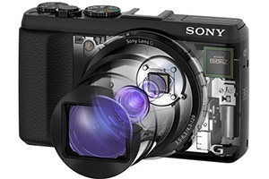 Sony Cyber-shot HX50: compatta tascabile con zoom 30x