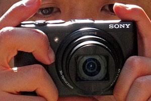 Sony Cyber-shot HX50: eccola dal vivo