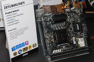 Schede madri MSI al Computex 2013